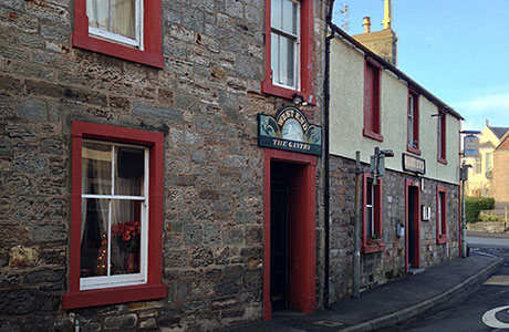 The West End Bar in the Fife village of Pittenweem has four-bedroom owner's accommodation.