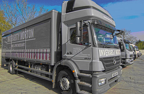 Inverarity Morton currently supplies around 3000 Scottish customers with a 31-strong delivery fleet from its depots in Glasgow and Milnathort.