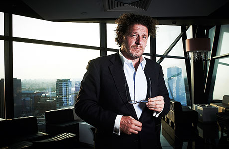 "Marco Pierre White said his new Glasgow restaurant has been a ""long time in the planning""."