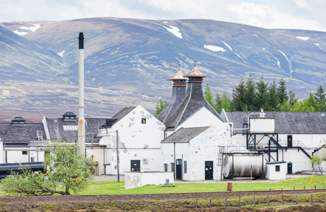 Dalwhinnie Distillery is one of several drinks businesses in north Scotland shortlisted in this year's awards.