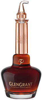 • The decanter is a replica of a pot still.