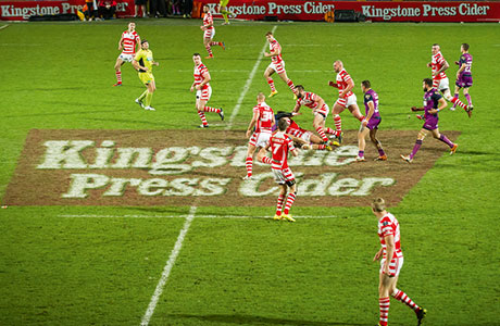 • The Kingstone Press partnership is set to run until the end of the 2017 Rugby League World Cup.