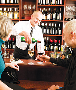 • Wholesalers can provide WSET training for outlets as well as offering wine menu creation tips.