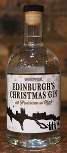 • The new Christmas Gin is 43% ABV.