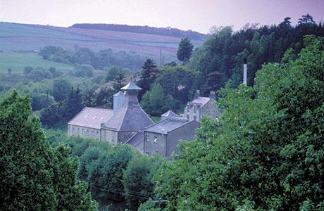 • The burn runs by the Speyburn distillery.