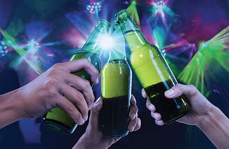 • Bottled beers can help operators to create a point of difference, if they're displayed effectively.