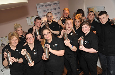 • The 13 graduates from Project Bartender undertook work placements at venues across Ayrshire.