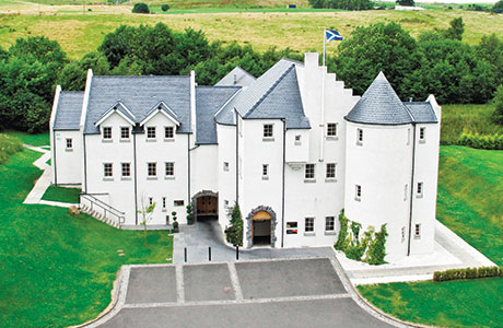 Glenskirlie House and Castle, finance, ESIF, East of Scotland Investment Fund,