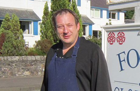 David Errington, Head Chef, The Four Seasons Hotel, Perthshire