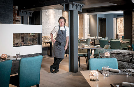 • Edinburgh restaurant The Kitchin has been extended into an adjacent unit.