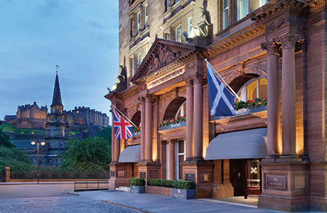 • The Waldorf Astoria Edinburgh – The Caledonian, where the executive chef will work.