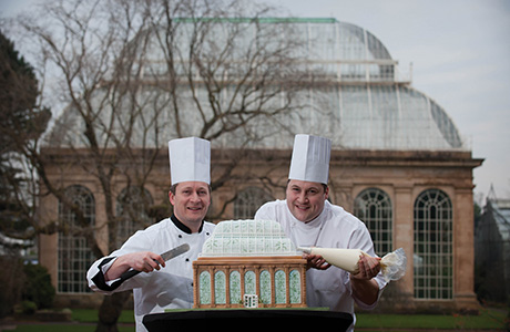 Sodexo chefs celebrating at the launch of the Year of Food and Drink initiative.
