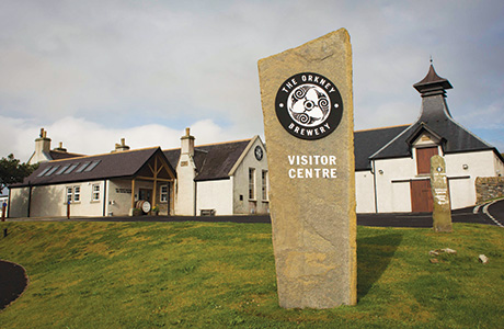 • Island hopping: Orkney Brewery has a five-star visitor centre. The new Orkney Gold has been produced to appeal to a wide range of beer drinkers.