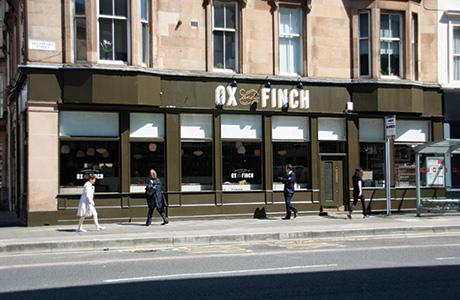 Ox and Finch Exterior - Photograph by  Kerr Vernon Graphic Design (2)