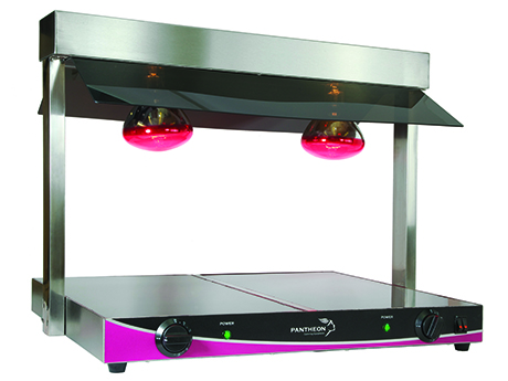 Pantheon HD2 countertop, heated display unit