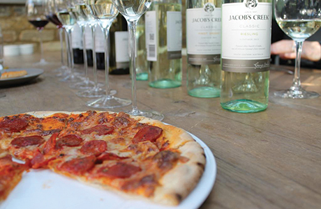 Firm rolls out food and wine wheel