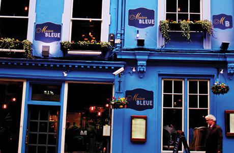 Edinburgh eatery shows new colours
