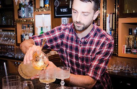 Jonny Gausinet prepares winning No 209 cocktail[2]