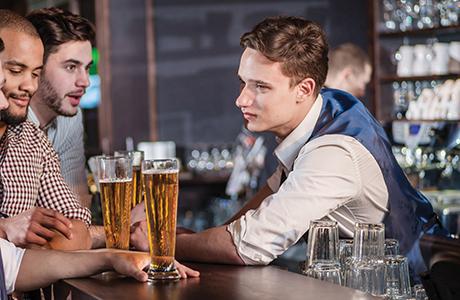 bartender pints