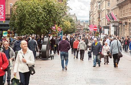 shutterstock_Glasgow Buchanan Street