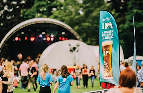 McEwan's beer debuts at Palace