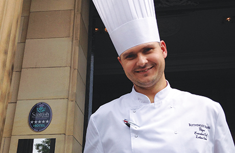 Szabo takes charge at the Blythswood
