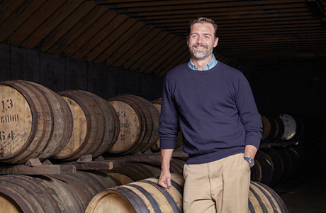 Patrick Grant for AnCnoc Whisky- Photographed by Tom Bunning