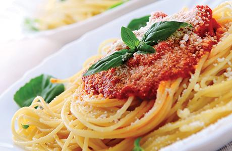 shutterstock_Italian food on plate