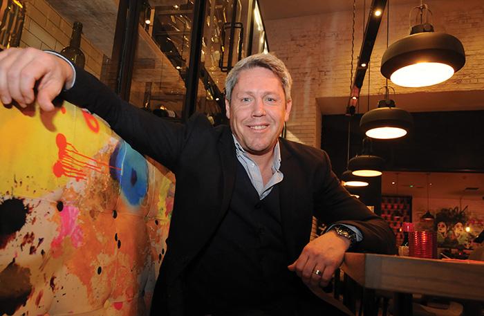 • Brad Stevens opened Bar Soba in Glasgow's Merchant City in July 2015.