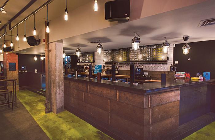 • Brewdog's new Stirling pub.