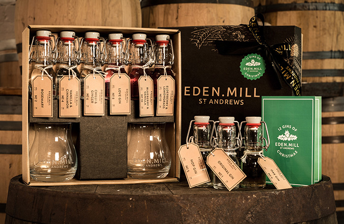 Eden Mill Christmas gin