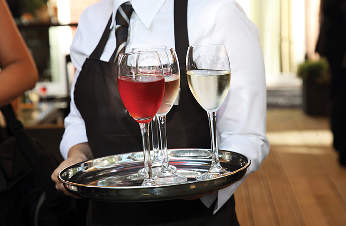 wine tray