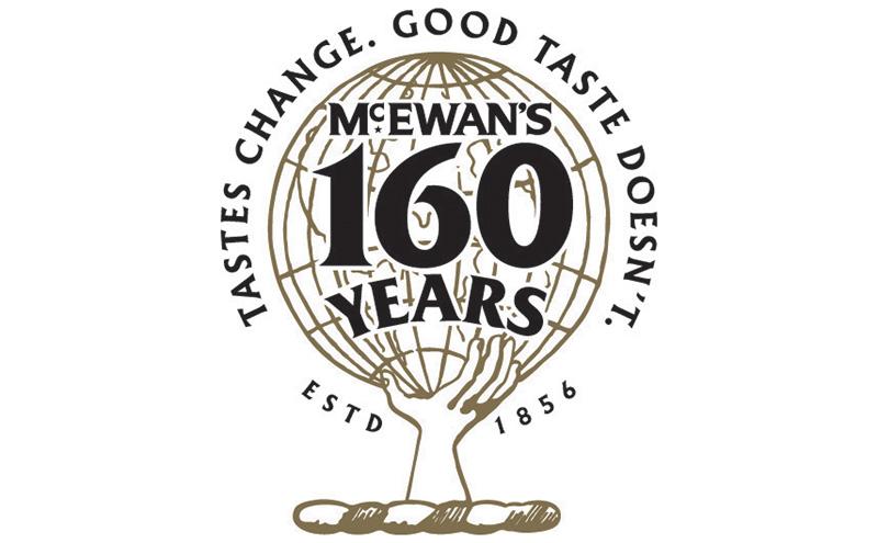 McEwans 160 Marque white BKG 2 colour