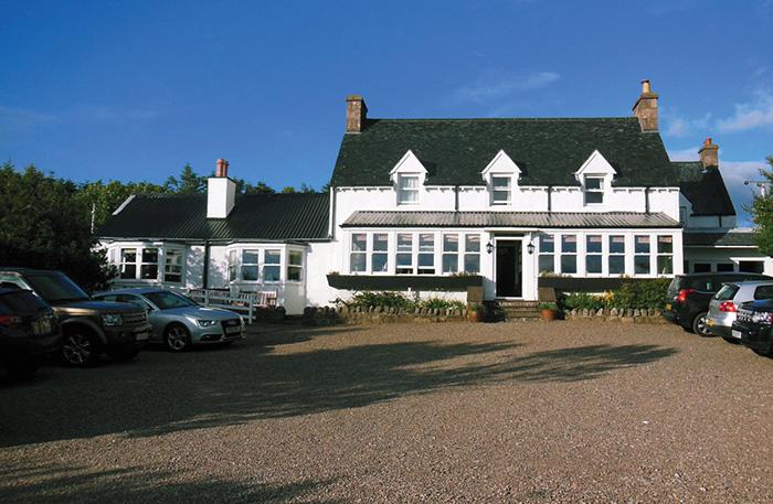 Summer Isles Hotel, Achiltibuie (front)