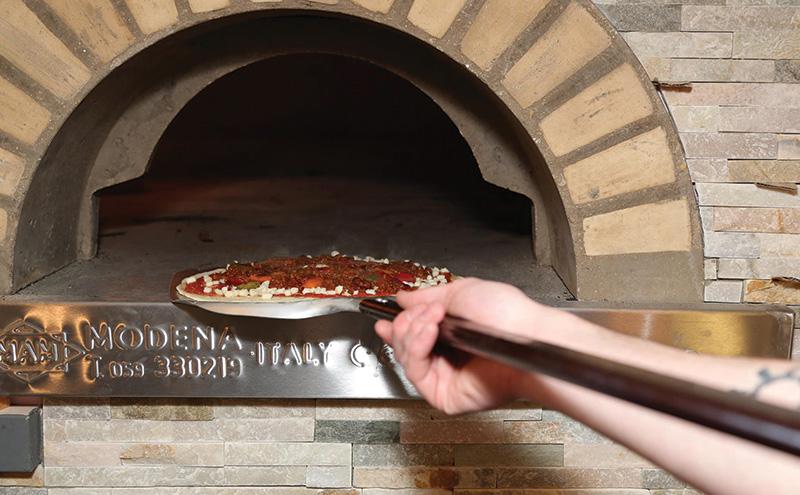 Saporito pizza oven