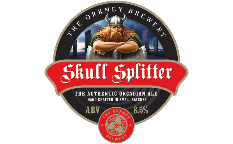 • Skull Splitter took silver.