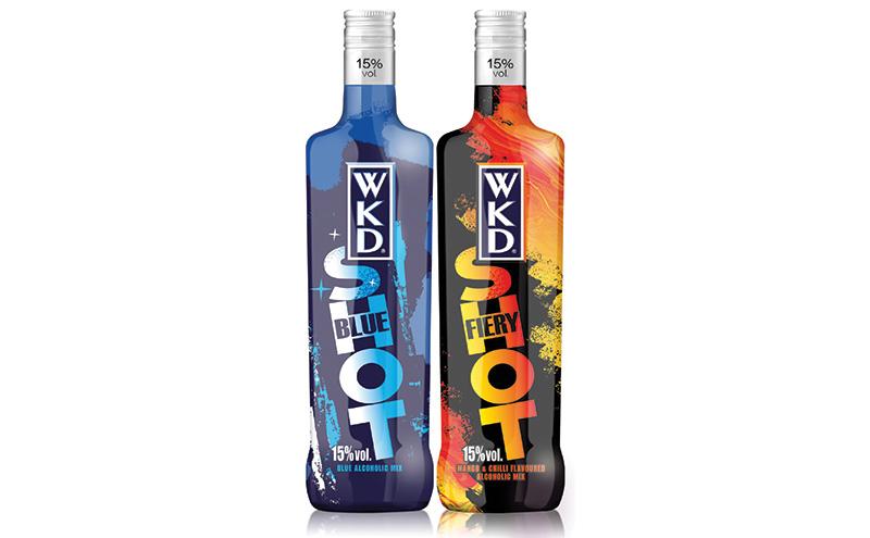 WKD Blue & Fiery Shot bottles ev[3]