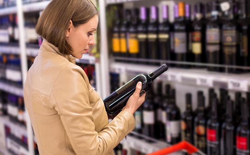 Wine, supermarket (pricing story)