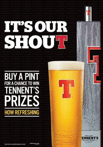 Tennent's it's our sxhout