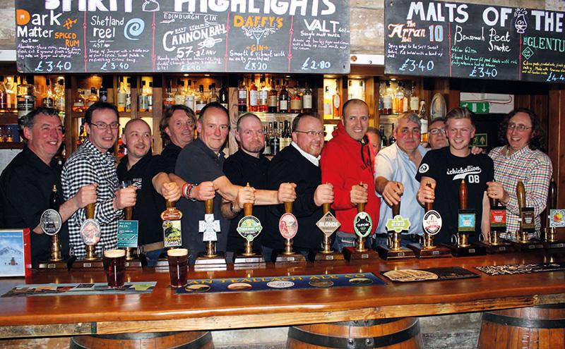 brewers at clachaig