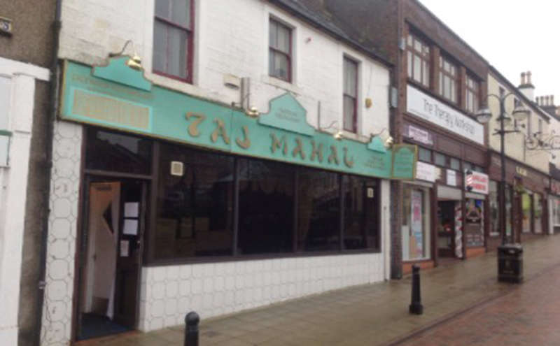 Falkirk eatery changes hands