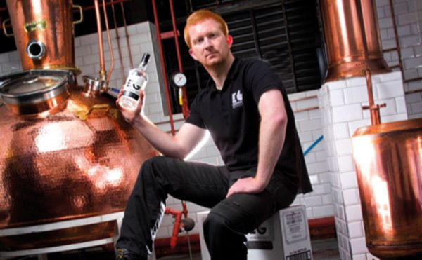 Gin firm takes the biscuit