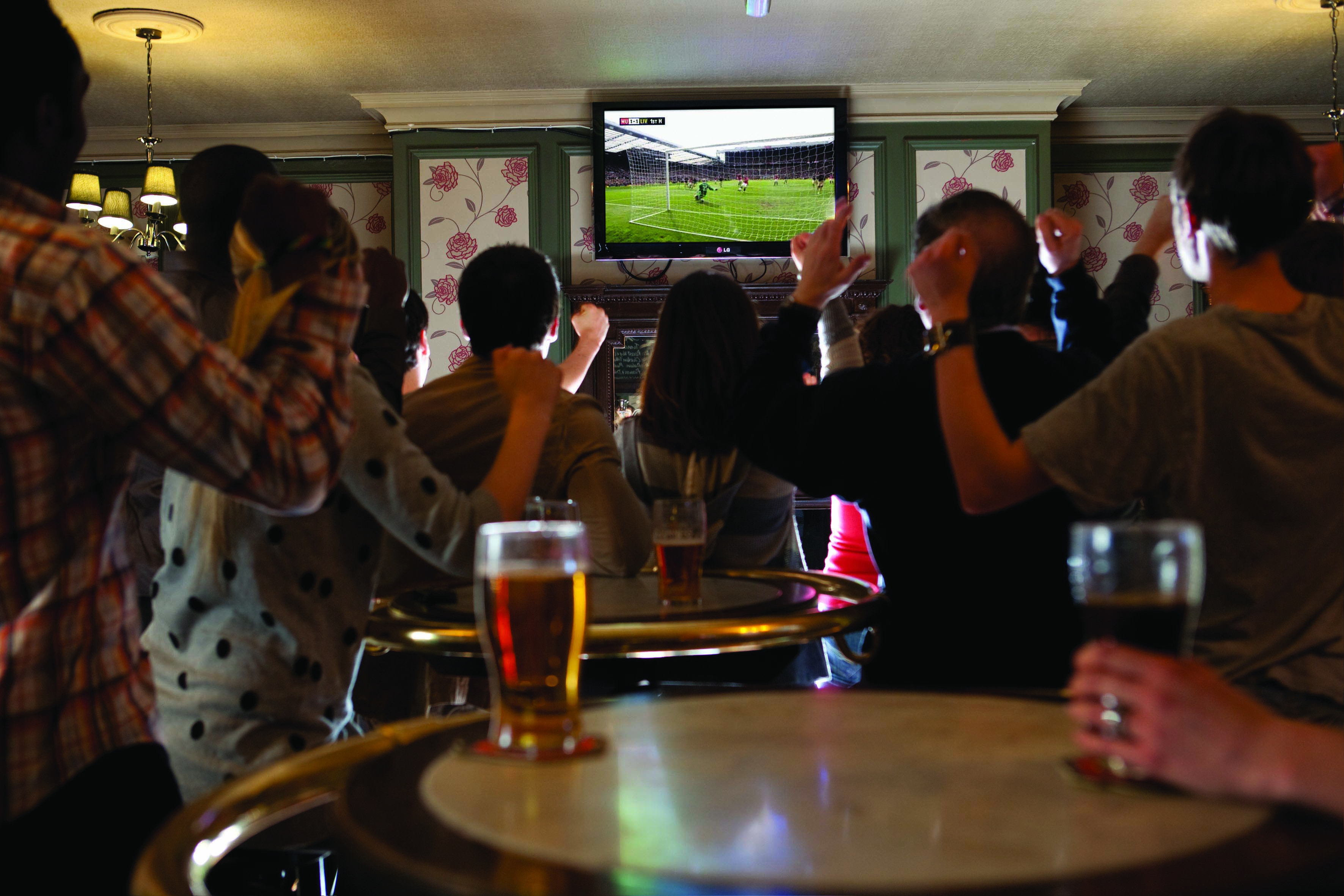 Sky Sports pub pic