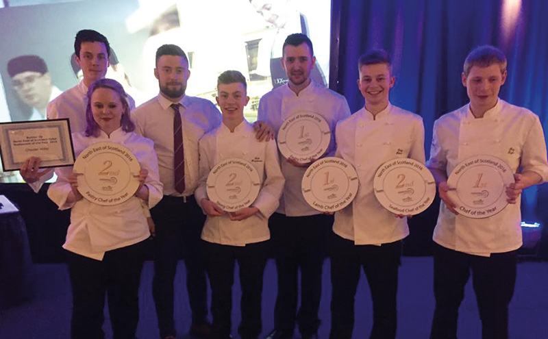 The Chester Hotel IX Restaurant team