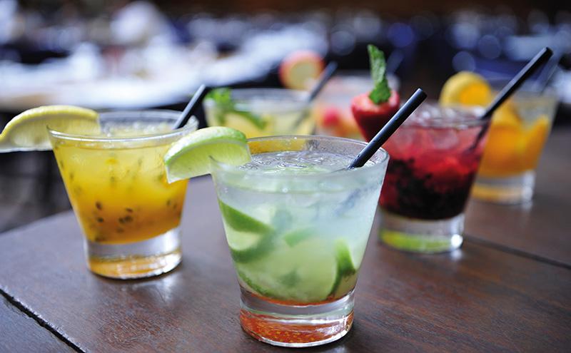 summer short cocktails