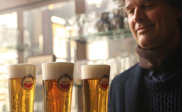 Amstel in TV debut