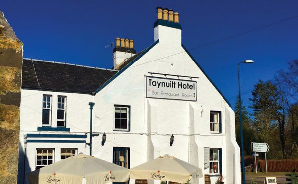 Success sets in at the Taynuilt