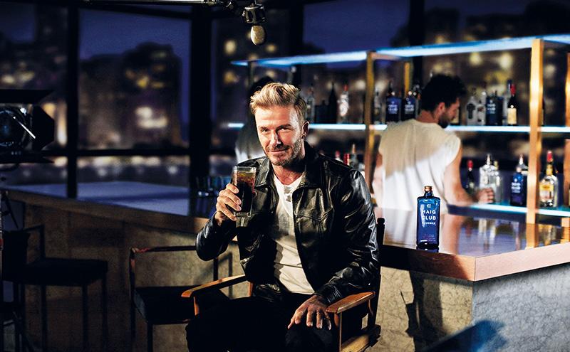 David Beckham introduces HAIG CLUB CLUBMAN - A new Single Grain Scotch Whisky from HAIG CLUB