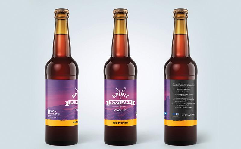 Spirit of Scotland Beer