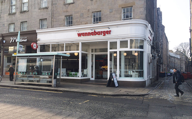 Wannaburger Edinburgh
